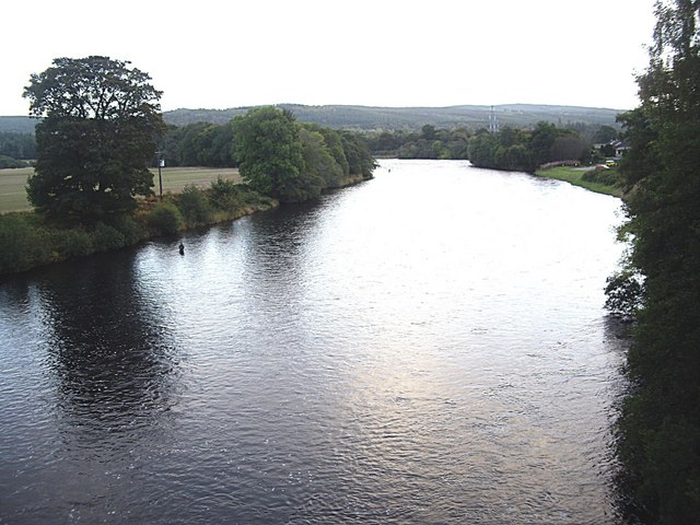 Upstream River Beauly