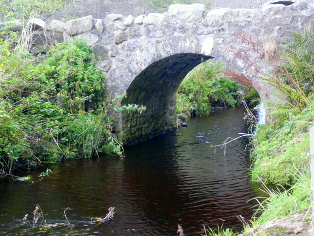 Old bridge at Newmill, near Strichen.