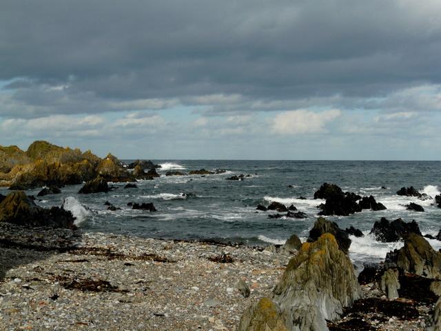 Rocks at Sandend.