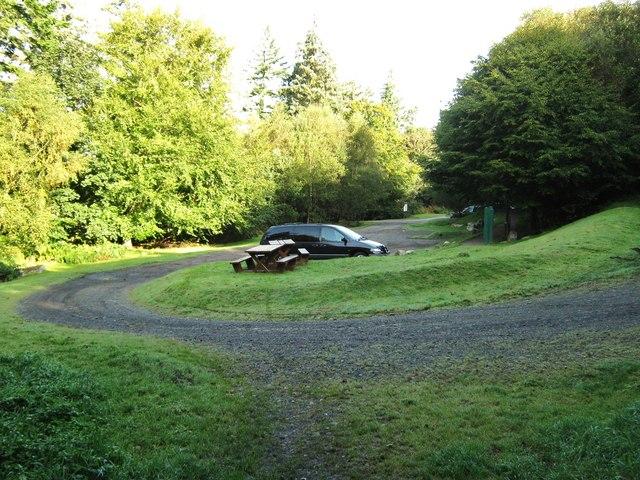 Car park, Dalbeattie Town Woods