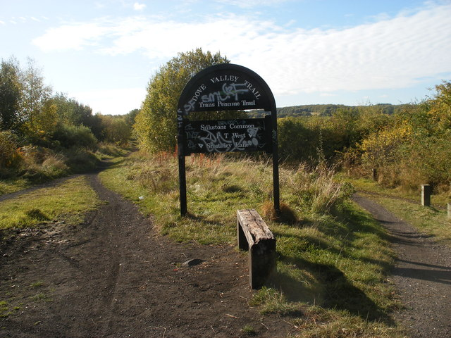 Trans Pennine Trail at Smithley Lane near Wombwell