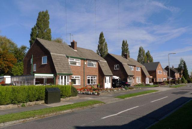 Houses on Hambleton Road