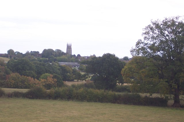 View of St. Mildred's Church, Tenterden