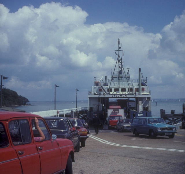 MV Caedmon at Fishbourne