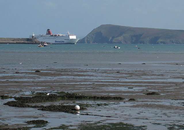 Arrival of Stena Europe (1)