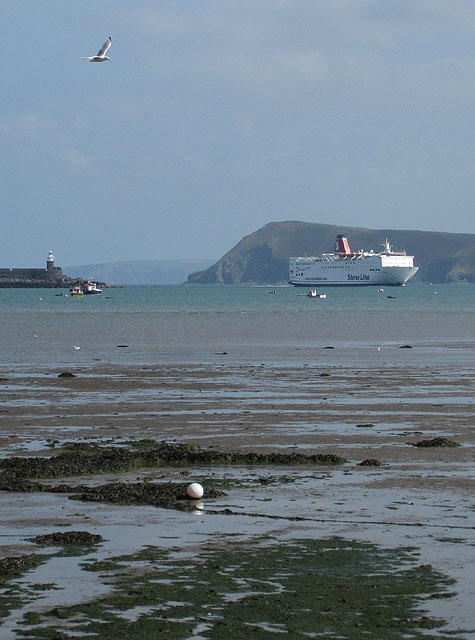 Arrival of Stena Europe (2)