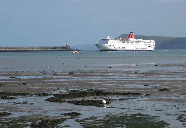 Arrival of Stena Europe (3)