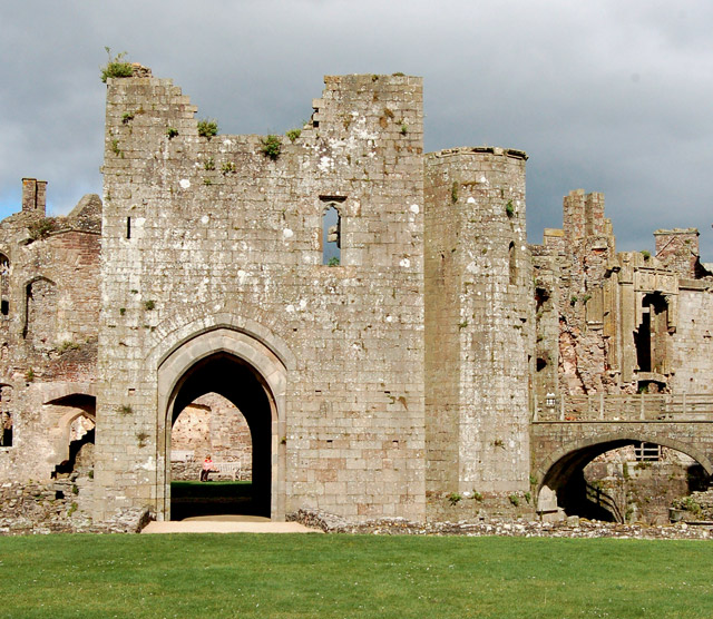 Archway at South Gate, Raglan Castle