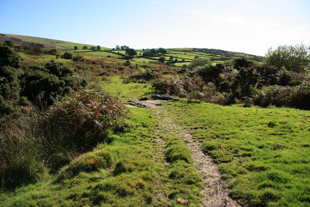 Bridleway to Challacombe
