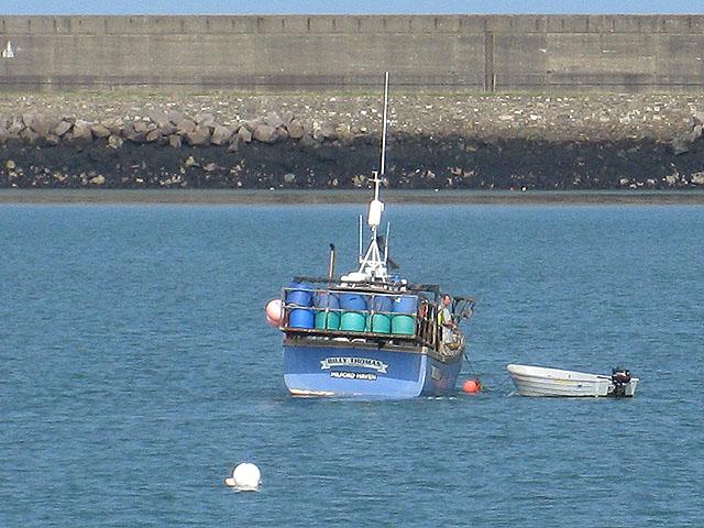 Crab boat, Fishguard Harbour