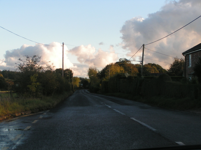 Heading south on the A345 away from The Woodbridge roundabout