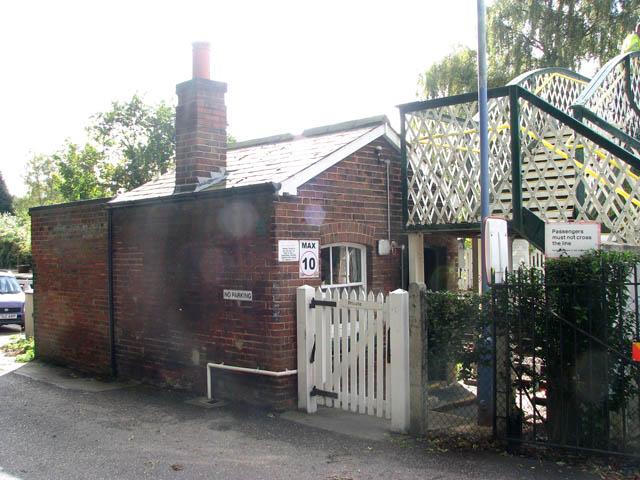 Brundall railway station - crossing keeper's hut