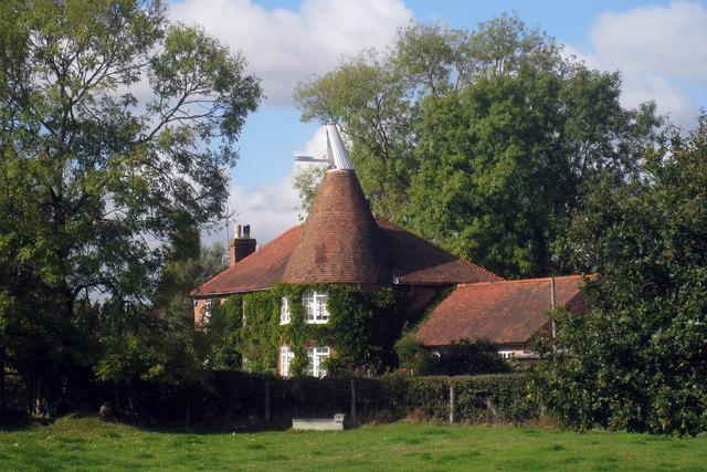 Oast House at Mill Farm, Mill Lane, Sissinghurst, Kent