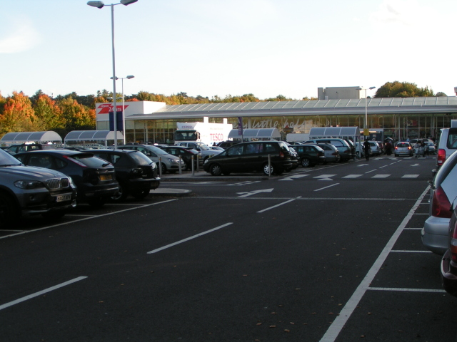 Tesco car park, Winnall trading estate