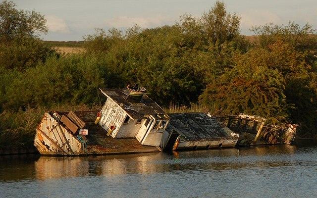 Wreck of MV Chica