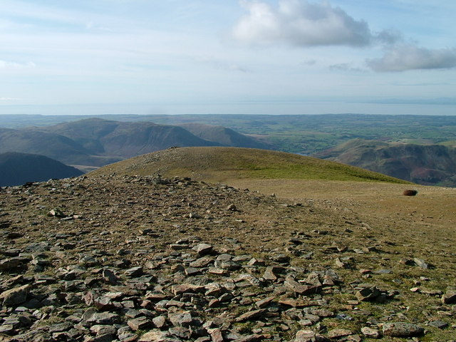 North-west top of Grasmoor