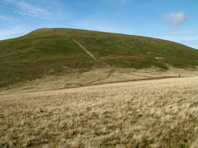 Path on Grasmoor