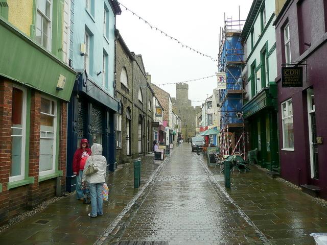 Palace Street, Caernarfon