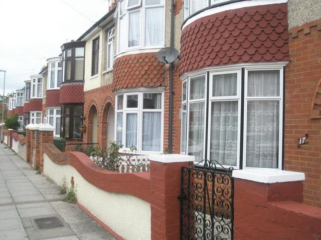 Houses in Wesley Grove