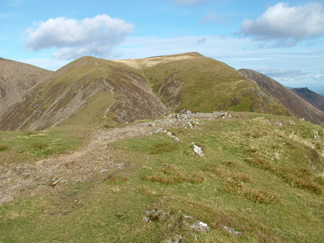 Cairn on Whiteless Pike