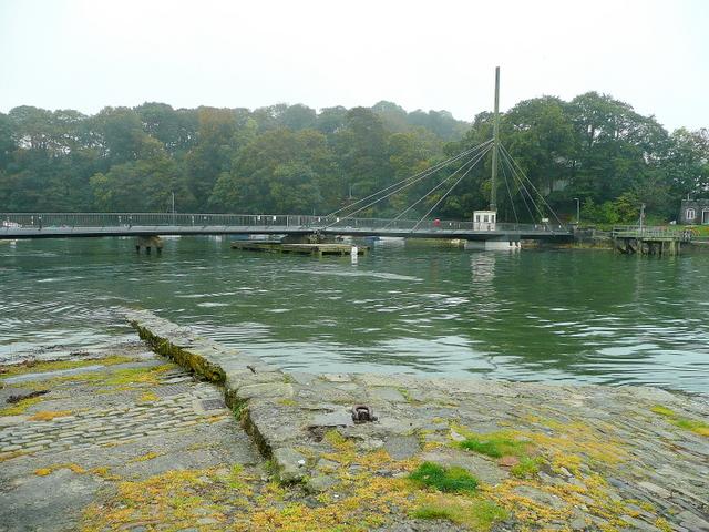 Harbour footbridge, Caernarfon