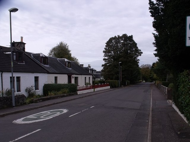 Stirling Road, Luggiebank