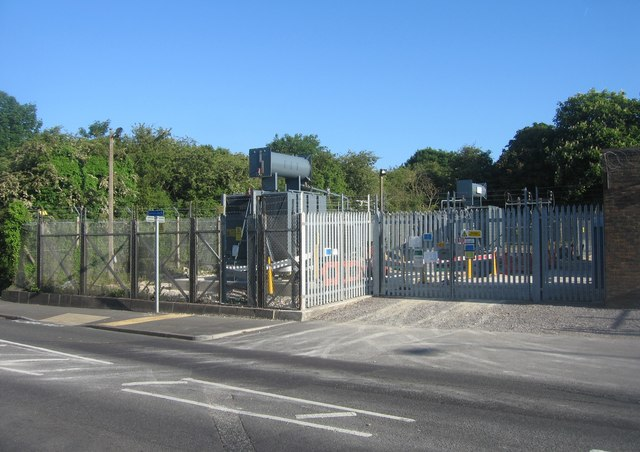 Electric substation  - Telford Road
