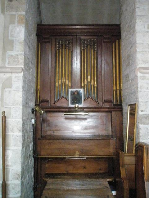 The organ at St Mary, Buriton