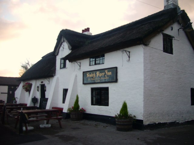 The Scotch Piper Inn, near Lydiate, Merseyside.