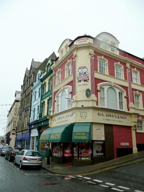 Owen's Butcher Shop, Caernarfon