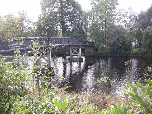 Footbridge over the River Teith, Callander