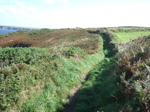 Coast path newar St Martin's