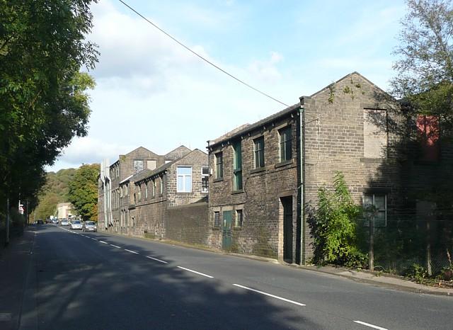 Bridge Royd Dye Works, Halifax Road, Stansfield