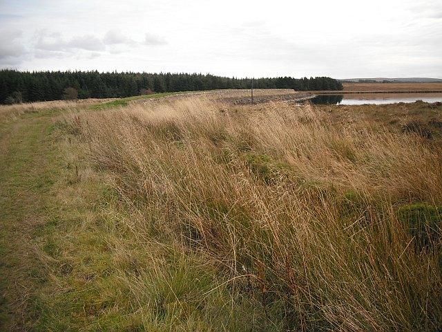 Cobbinshaw Reservoir dam