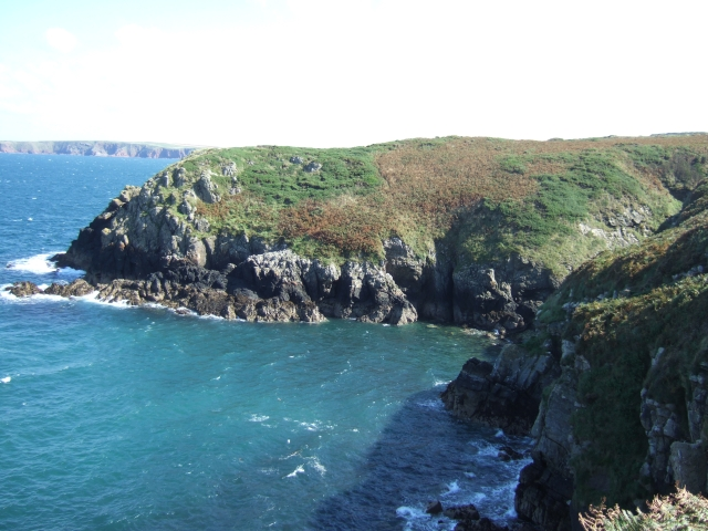 Headland to east of St Martin's