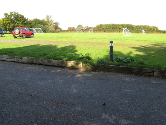 Playing fields at Cumnor House School