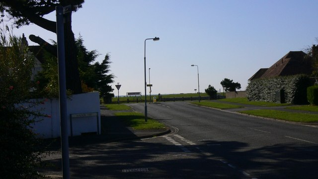 Junction of Manor Way and Sea Grove Avenue