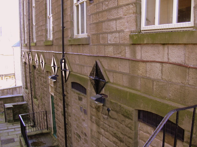Tie Rods-Bars, North Wall of The Baptist Chapel, Bolton Street