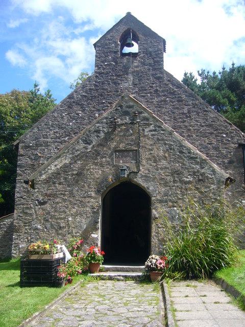 St David's Church, Caldey Island.