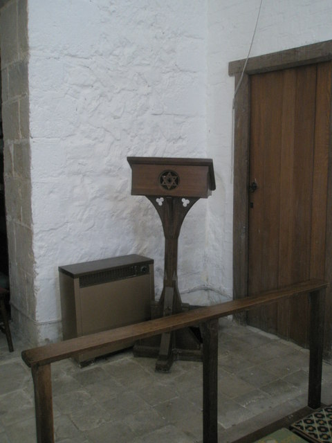 The lectern at St Paul's, Elsted
