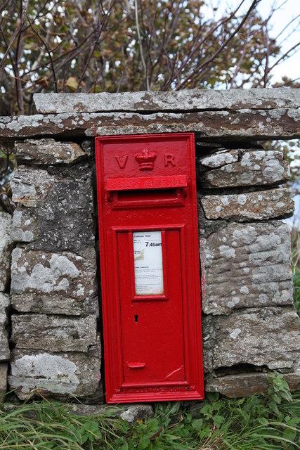 Post Box, Melsetter House