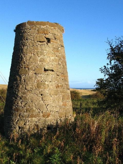 Oxwell Mains windmill, Dunbar