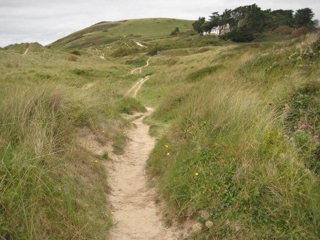 Sand dunes near Rock