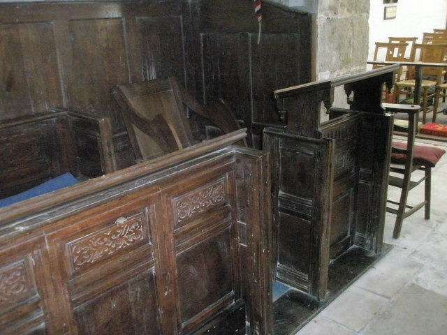 The incumbent's chair at St Paul's, Elsted