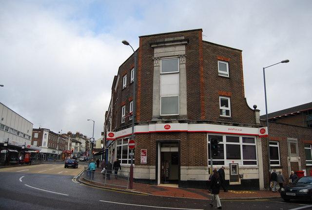 Tunbridge Wells Main post Office, Goods Station Rd