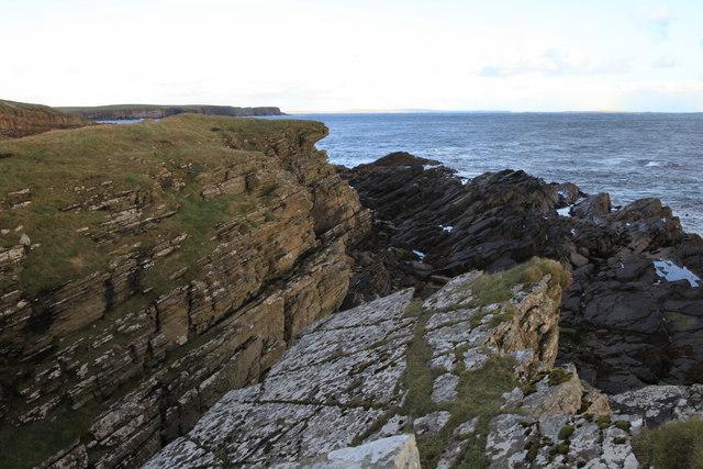 Coastline near Brims