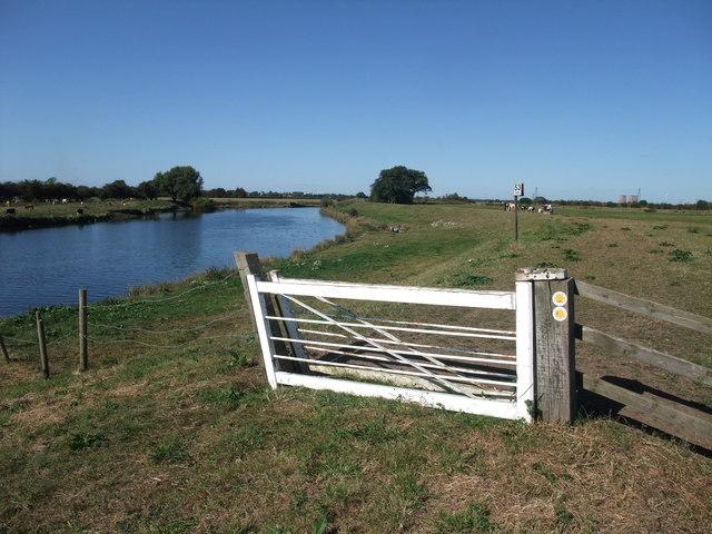 A Trent 'clapper gate'