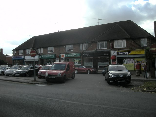 Shopping Parade In Baginton Road