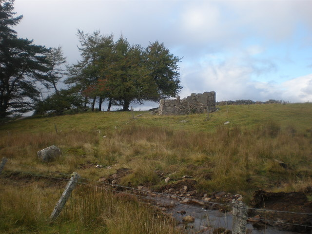 Ruin cottage near Migdale