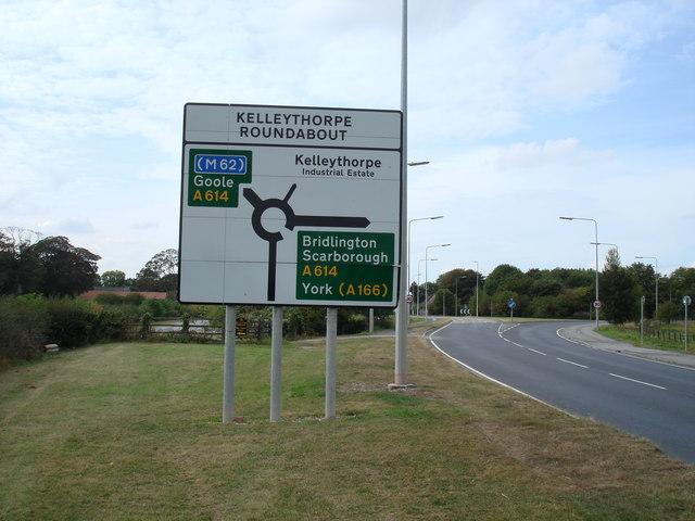 Kelleythorpe roundabout, Driffield
